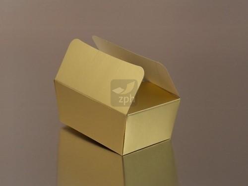 BALLOTIN bonbondoosje  375 grams   WIT/GOUD
