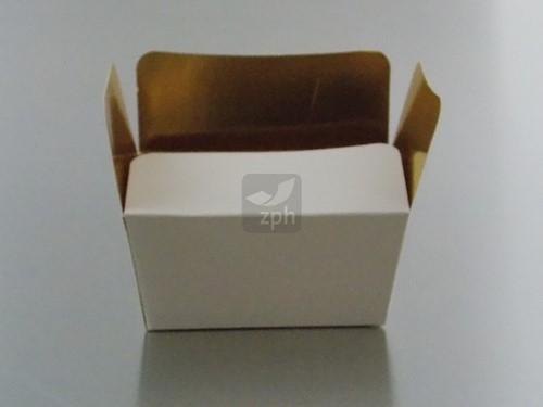 BALLOTINS bonbondoosje 125 grams  WIT/GOUD  10x6,5x4,5 cm