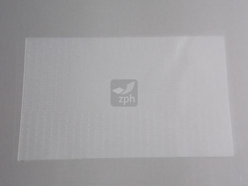 CELLOFAAN TUSSENLEGGERS 10x15 cm. micro geperforeerd   P/KG.