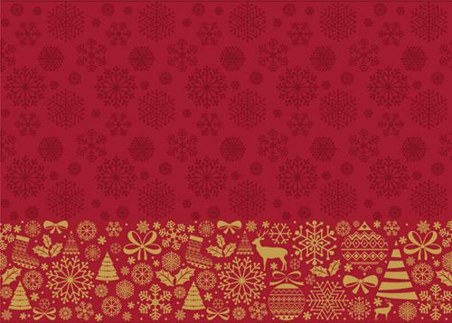 Placemats 30x40 cm Dunicel Divine Time Kerst  pak a 100 stuks