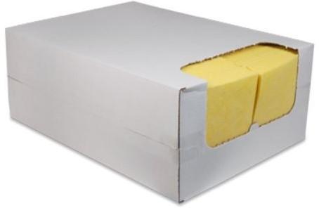 REINIGINGSDOEKEN GEEL nonwoven 38x40 cm doos a  200 stuks
