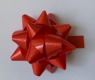 STARBOWS plakstrikken 50 mm rood a 100 stuks