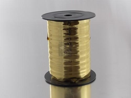 KRULLINT 5 mm 500 meter GOUD METAL ORO