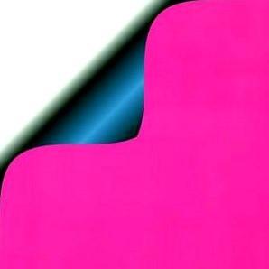 DESSIN INPAK CADEAU PAPIER PINK MAT BLUE/GLOSSY 50 cm x 200 mtr 5068