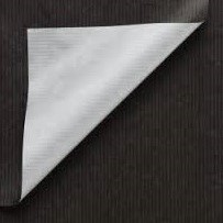 DESSINPAPIER DUO LUXE ZWART ZILVER 40 cm x 200 mtr DESSIN 994