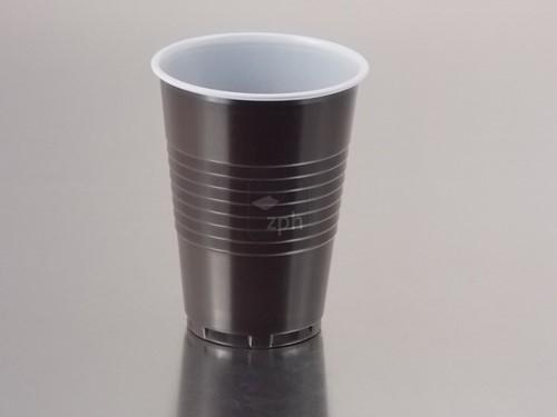 KOFFIE AUTOMAATBEKER 180 cc (top fill 210) 70,3 mm  bruin/wit