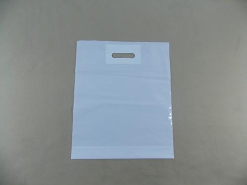 DKT PATCH DRAAGTAS 45x50 cm+2x4 cm bodemvouw WIT 50 micron
