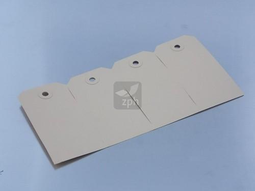MANILLA LABELS 70x140 mm NR 8