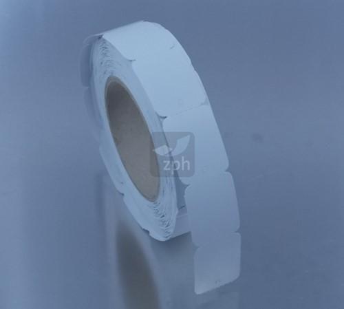 TEXTIEL HANGETIKETTEN 32x40.7 mm  op rol