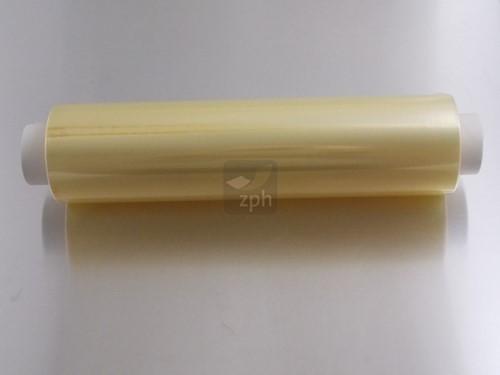 KLEEFFOLIE REFILL 30 cm x 300 mm 8,5 mµ CHAMPAGNE  (bruine ds a 4 rol)