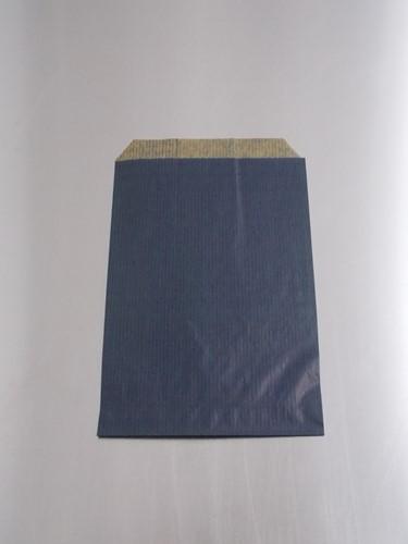 FOURNITUREN ZAK 12x18 cm kraft BLAUW