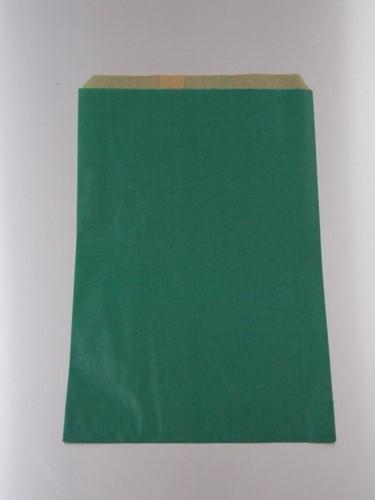FOURNITUREN ZAK 17,5x26 cm kraft GROEN