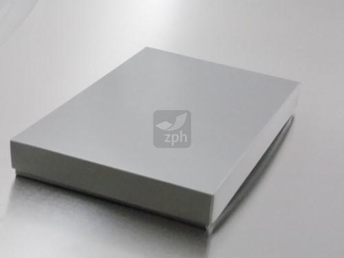 KLEDINGDOOS 230x160x30 mm ZILVER