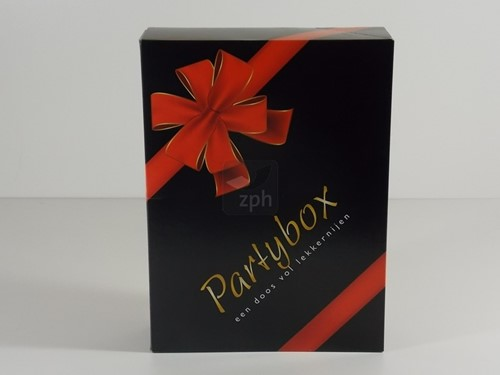 GESCHENKDOOS  PARTY BOX ZPH 365 x 272 x 80 mm