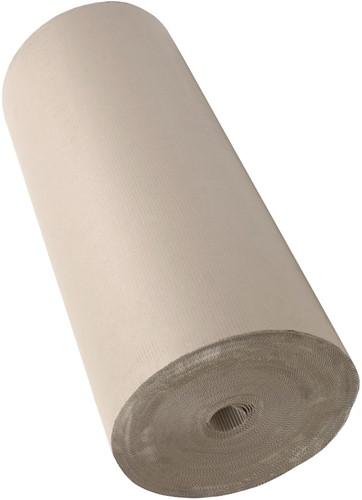 GOLFKARTON ROL 100 cm x 70 meter 2x70 gr/m2 grijs