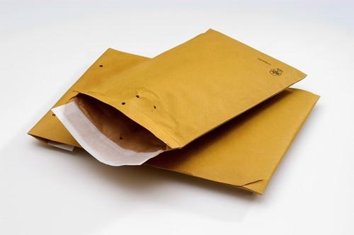 J-pack gevoerde verzendenveloppen 162 x 229 bruin
