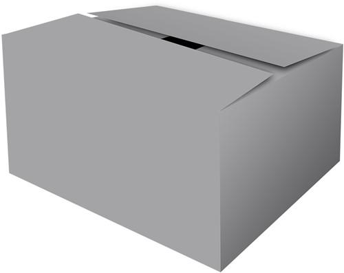 GOLFKARTON GESCHENKDOOS 390x290x130 mm ZILVER