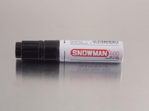 STIFT SNOWMAN  400 ZWART