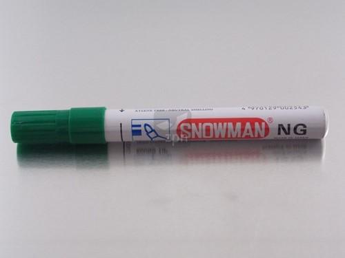 STIFT SNOWMAN  400 GROEN