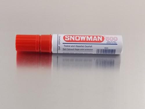 STIFT SNOWMAN  500 ROOD