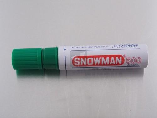 STIFT SNOWMAN  500 GROEN