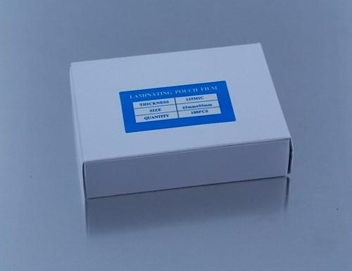 LAMINATORHOES   65X95   mm    125 MICRON