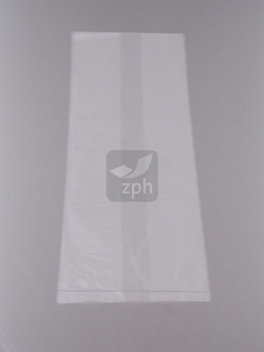 HDPE PLASTIC ZAK 18x27 cm zijvouw (10x8x27) transparant