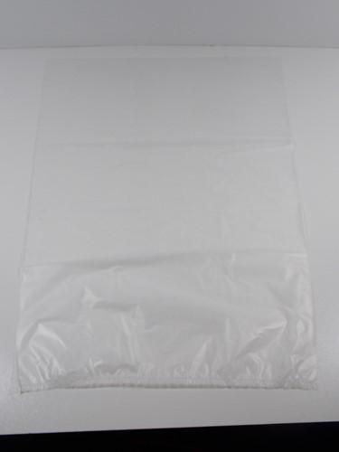 HDPE PLASTIC ZAK VLAK 540x800 mm 40 micron transparant STERKO