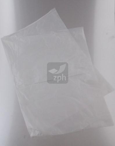 PLASTIC ZAK VLAK 40x60 cm HDPE 20 micron transparant