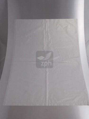 HDPE PLASTIC VLAKKE ZAK 60x90 cm 35 micron transparant