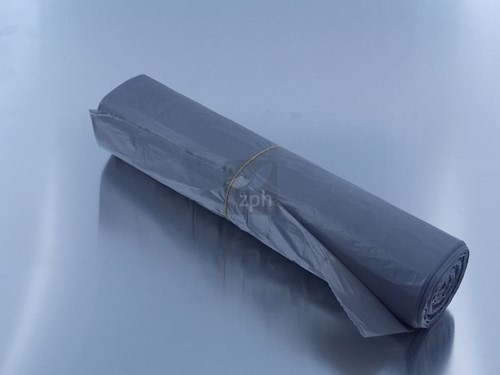 HDPE PLASTIC AFVAL ZAK 50x60 cm OP ROL GRIJS ( per rol = 50 st. )