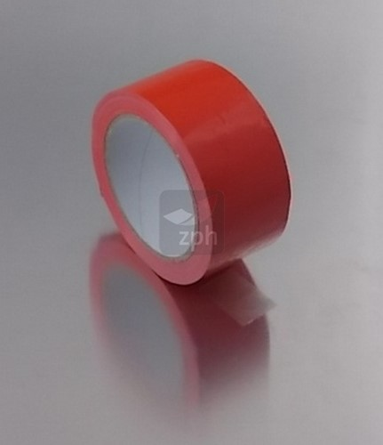 PP SOLVENT TAPE 50 mm x 66 meter  ROOD BLANCO