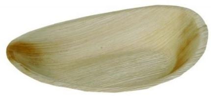 Palmblad bord ovaal 26x16 cm doos a 100 st.