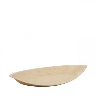 Palmblad bord 23x12,5x2,3 cm doos a 200 st.