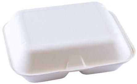 Suikerriet menubox XL 235x195x75mm 2-vaks