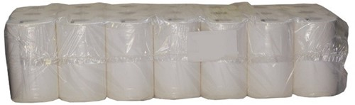 TOILETPAPIER 400 Vels  1 laags NATUREL 90724  48 rollen