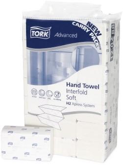 Tork Xpress® Zachte Multifold Handdoek 2-laags XL Wit  DOOS A 21 PAK 120288  H2 Advanced
