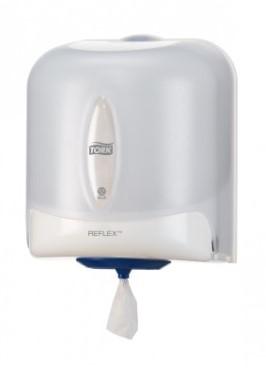 TORK Reflex® Centerfeed Poetspapier Dispenser Kunststof Wit M4 473140