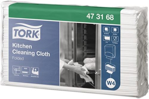 TORK KITCHEN CLEANING Gevouwen Reinigingsdoek PREMIUM W4  473178