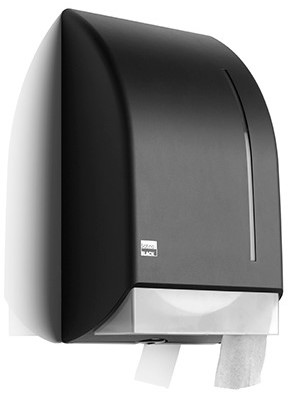 SATINO BLACK jumbo toiletroldispenser 180288