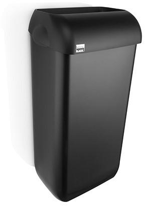 SATINO BLACK afvalbak 23 liter 180268