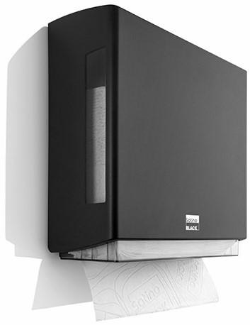 SATINO BLACK BriQ handdoekdispenser 180308
