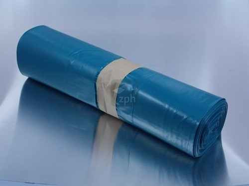 KLIKOZAK 65x50x140 cm 70 micron LDPE BLAUW  (10 rol a 10 stuks)  240 l