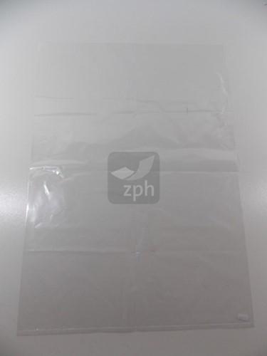 PLASTIC ZAK VLAK 50x70 cm   LDPE 50 micron HELDER