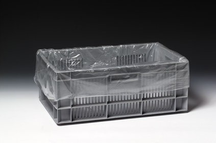 KRATZAKKEN PLASTIC  LDPE  60x40x80 cm 20 micron transparant HELDER