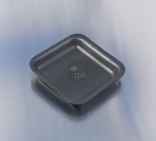 SCHUIMSCHAAL EPS 135x135x17 mm ZWART D60