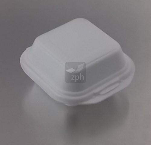SCHUIM EPS KLAP BAK 126x121x71 mm WIT HAMBURGER AP7