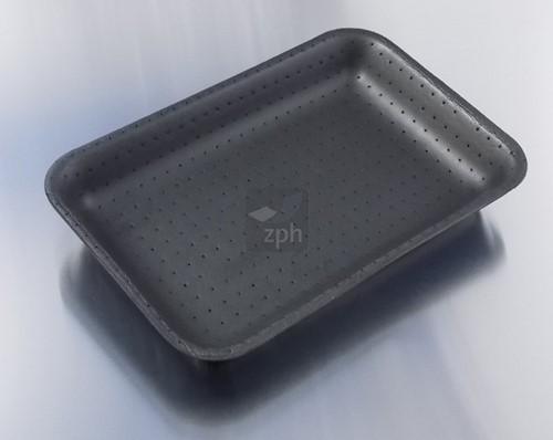 SCHUIMSCHAAL EPS 290x210x32 mm absorptie 11S ZWART