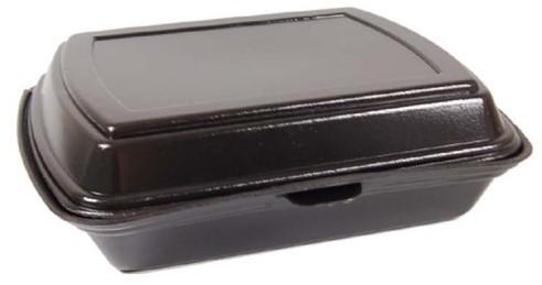 SCHUIM MENUBAK EPS 247x198x75 mm  ZWART IP4  1 vaks
