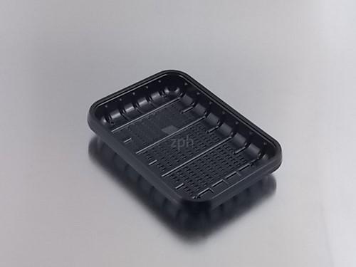 HARDPLASTIC VLEESSCHAAL APET 180x135x20 mm nr 70 Laag  zwart